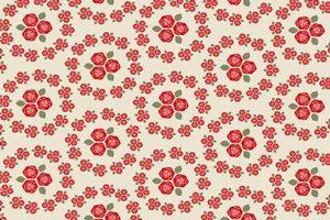 薔薇 バラ イラスト パターン 模様 背景 壁紙 無料 フリー