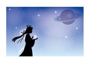 織姫 イラスト シルエット 無料 フリー