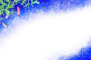七夕 天の川 イラスト フレーム 枠 無料 フリー
