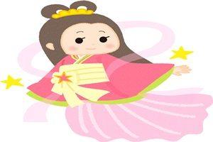 織姫 イラスト 可愛い 綺麗 お姉さん 無料 フリー