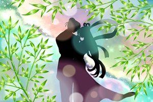 織姫 彦星 イラスト シルエット 綺麗 無料 フリー