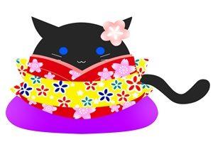 黒猫 イラスト 綺麗 かわいい 無料 フリー