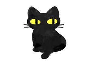黒猫 イラスト おしゃれ 無料 フリー