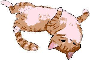 猫 イラスト 手書き 手描き かわいい 無料 フリー