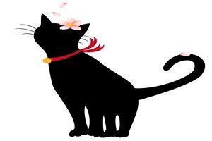 黒猫 イラスト 綺麗 無料 フリー