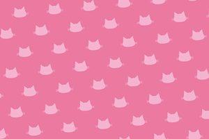 猫 イラスト 背景 壁紙 シルエット カラー 無料 フリー