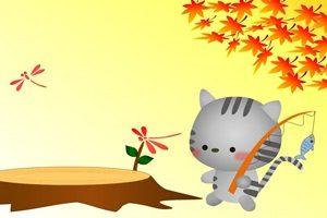 猫 イラスト 背景 壁紙 無料 フリー