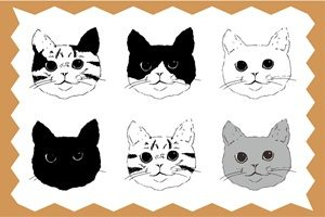 猫 イラスト 手描き 手書き 無料 フリー かわいい