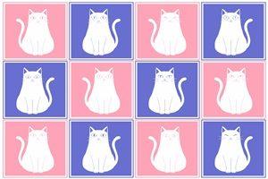 猫 イラスト 壁紙 背景 無料 フリー
