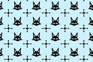 黒猫 イラスト 壁紙 背景 かっこいい 無料 フリー
