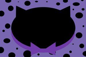 黒猫 イラスト かわいい 背景 壁紙 無料 フリー