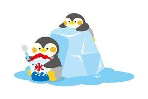 かき氷 ペンギン イラスト 無料 フリー