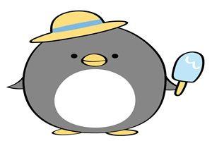 アイスクリーム 動物 ペンギン 無料 フリー アイスキャンディー ソーダ味