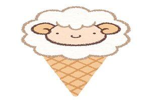 アイスクリーム イラスト ひつじ 画像 無料 フリー