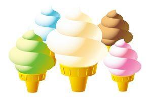 ソフトクリーム イラスト 無料 画像 素材 かわいい