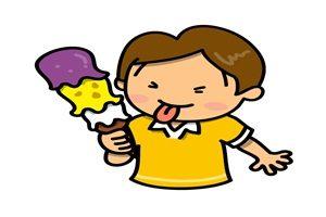 アイスクリーム 食べる 男の子 イラスト 無料 フリー