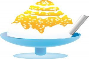 かき氷 マンゴー イラスト 無料 フリー