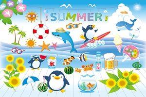 暑中見舞い イラスト 子供向け 幼稚園 無料 フリー