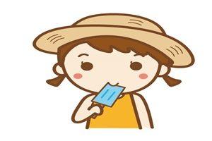 アイス 女の子 食べる イラスト 無料 フリー