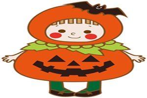 ハロウィン イラスト 女の子 かぼちゃ 仮装 コスプレ 無料 フリー かわいい