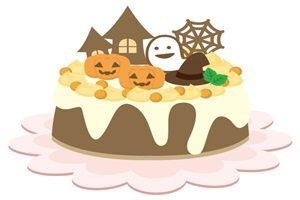 ハロウィン ケーキ デコレーション イラスト 無料 フリー