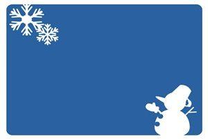 雪だるま イラスト 背景 フレーム シルエット カラーシルエット 無料 フリー