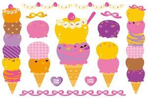 ハロウィン イラスト お菓子 アイスクリーム 無料 フリー