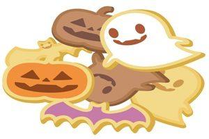 ハロウィン イラスト お菓子 クッキー 無料 フリー