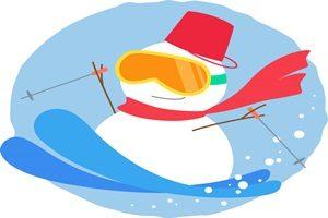 雪だるま スキー イラスト 無料 フリー かわいい おしゃれ かっこいい