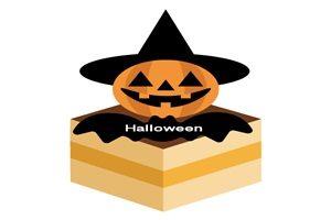 ハロウィン ケーキ イラスト かぼちゃ ジャックオランタン 無料 フリー