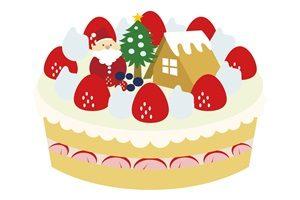 クリスマスケーキ イラスト かわいい 無料 商用フリー