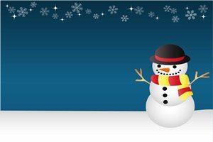 雪だるま イラスト 背景 かっこいい クール おしゃれ 無料 フリー