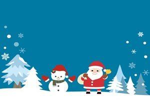 雪だるま クリスマス イラスト 背景 無料 フリー