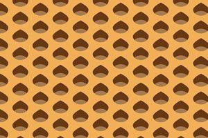 栗 イラスト 壁紙 パターン 無料 商用フリー