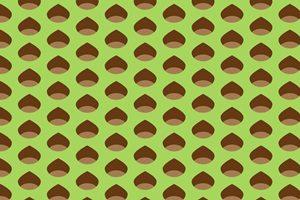 栗 イラスト 壁紙 背景 パターン 無料 商用フリー