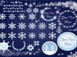 雪の結晶 イラスト 素材 無料 商用フリー
