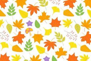 もみじ イラスト 背景 壁紙 パターン 無料 フリー おしゃれ かわいい 綺麗