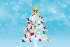 クリスマスツリー イラスト 靴下 サンタブーツ かわいい 無料 フリー