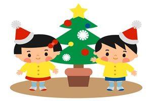 クリスマスツリー イラスト 子供 幼稚園 保育園 キッズ かわいい 無料 フリー
