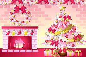 クリスマスツリー 暖炉 イラスト かわいい おしゃれ 無料 フリー