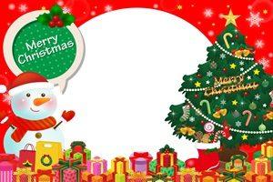 クリスマスツリー プレゼント イラスト かわいい フリー