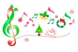 クリスマスツリー 音符 オーナメント イラスト おしゃれ かわいい 無料 フリー