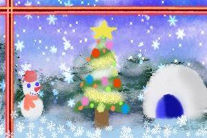 クリスマスツリー イラスト 水彩画 おしゃれ かわいい 綺麗 無料 フリー