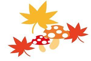 紅葉 もみじ きのこ イラスト かわいい 無料 フリー