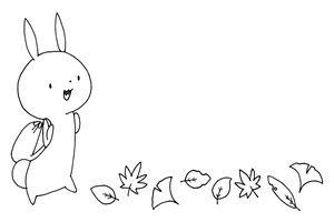もみじ イラスト 白黒 塗り絵 無料 フリー