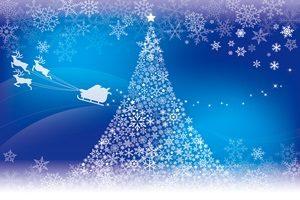 クリスマスツリー イラスト 幻想的 おしゃれ 無料 フリー