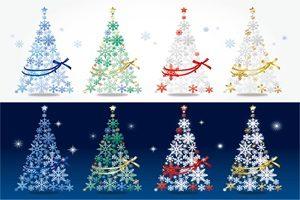 クリスマスツリー イラスト おしゃれ 無料 フリー