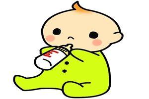 赤ちゃん ミルク イラスト かわいい 無料 商用フリー
