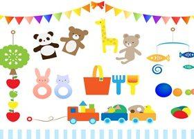 赤ちゃん おもちゃ イラスト 無料 商用フリー