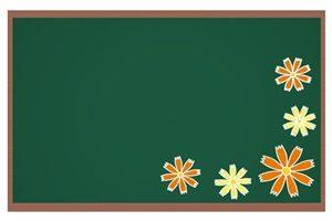 コスモス 黒板 フレーム イラスト 無料 商用フリー